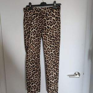 Zara Leopard 🐆 Pants Size M Worn Once!